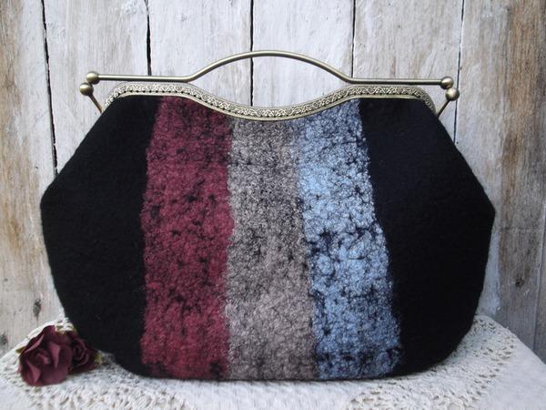 Как пришить фермуар к сумочке | Ярмарка Мастеров - ручная работа, handmade