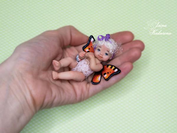 Малышка бабочка спешит показаться! | Ярмарка Мастеров - ручная работа, handmade