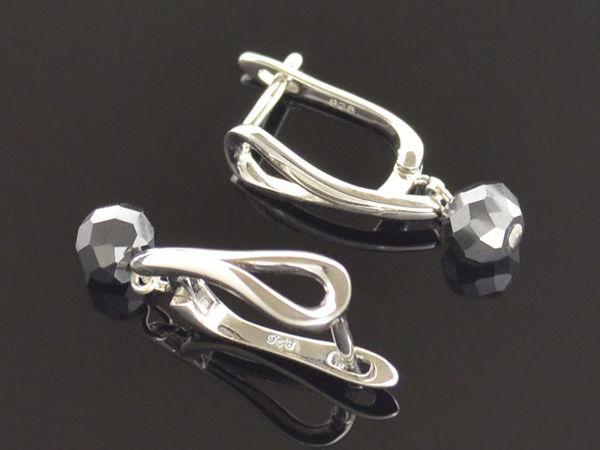 Скидка 30% на украшения с черными бриллиантами | Ярмарка Мастеров - ручная работа, handmade