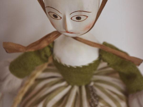 Кукла — игольница | Ярмарка Мастеров - ручная работа, handmade