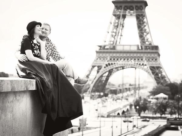 Прогулка по Парижу в красивом платье.   Ярмарка Мастеров - ручная работа, handmade