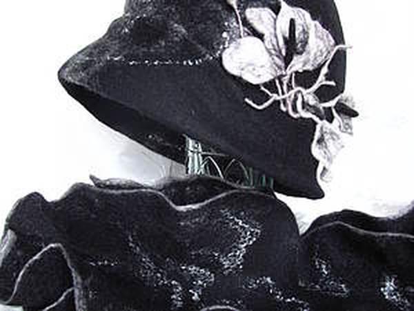 Мастер-Класс по валянию шляпки | Ярмарка Мастеров - ручная работа, handmade