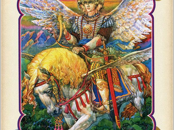 Славянский бог Световид и что о нём известно?   Ярмарка Мастеров - ручная работа, handmade