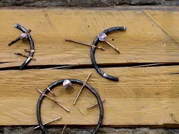 Медные гвозди. Изготовление и применение   Ярмарка Мастеров - ручная работа, handmade