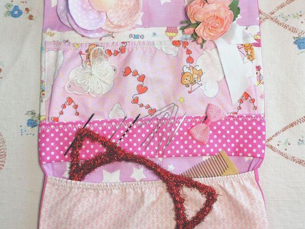 Шьем кармашки для мелочей. Цветок из ткани. Часть 2 | Ярмарка Мастеров - ручная работа, handmade