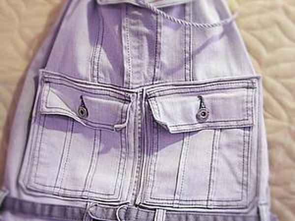 Шьем рюкзачок из старых джинсов | Ярмарка Мастеров - ручная работа, handmade