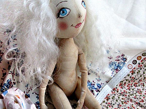 Простое платье для куколки | Ярмарка Мастеров - ручная работа, handmade