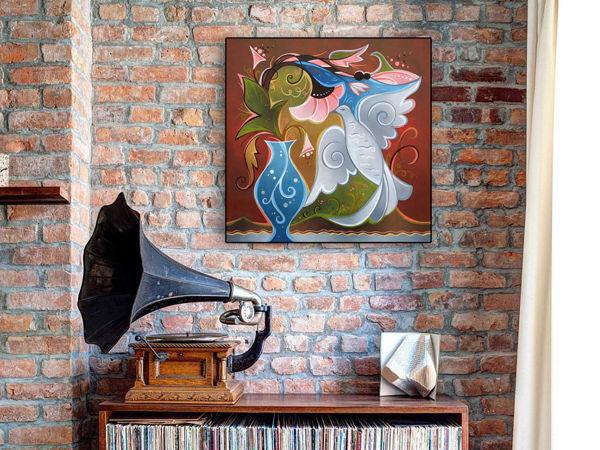 Распродажа! Мои картины в современных интерьерах   Ярмарка Мастеров - ручная работа, handmade