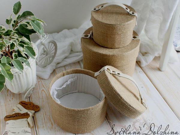 Как сделать круглую шкатулку | Ярмарка Мастеров - ручная работа, handmade