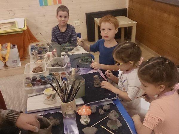 Лепка из природной глины | Ярмарка Мастеров - ручная работа, handmade