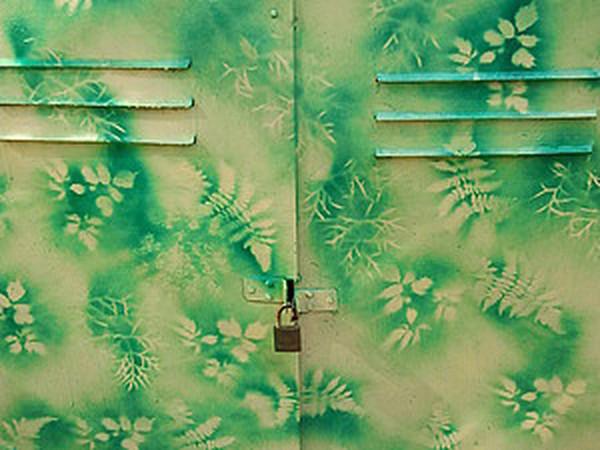 Декорирование больших предметов или новая жизнь железного шкафа:) | Ярмарка Мастеров - ручная работа, handmade