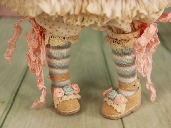 Шьем чулочки для куклы | Ярмарка Мастеров - ручная работа, handmade
