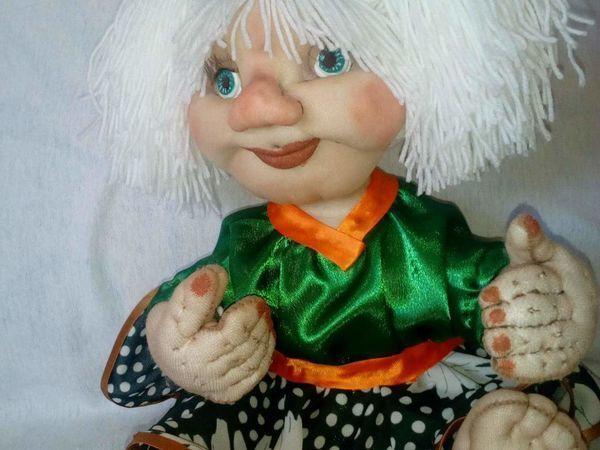 Пришиваем кукле волосы из пряжи | Ярмарка Мастеров - ручная работа, handmade