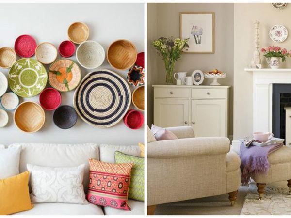 Оформляем стены декоративными тарелками!! Полезные советы! | Ярмарка Мастеров - ручная работа, handmade