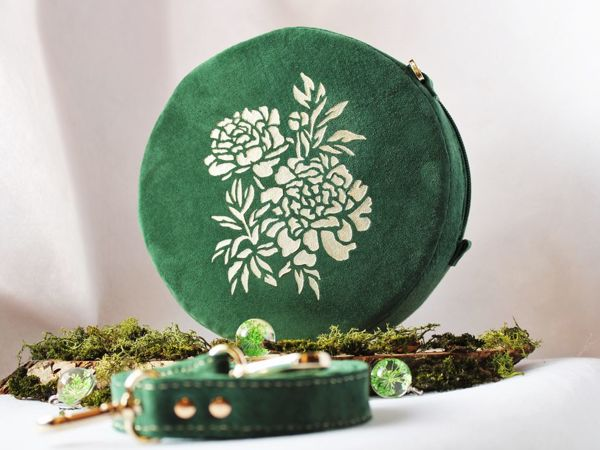 Видеообзор сумочки изумрудный мох | Ярмарка Мастеров - ручная работа, handmade