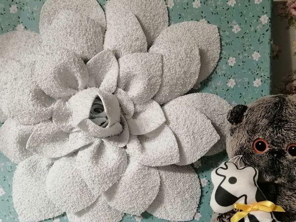 Создаем панно «цветок» | Ярмарка Мастеров - ручная работа, handmade