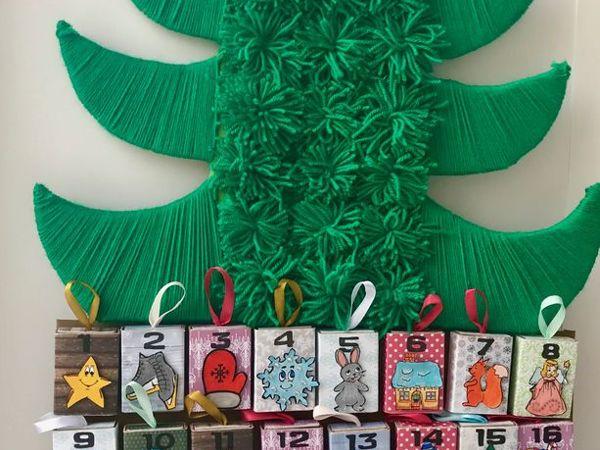 DIY Advent Calendar for Kids   Livemaster - handmade