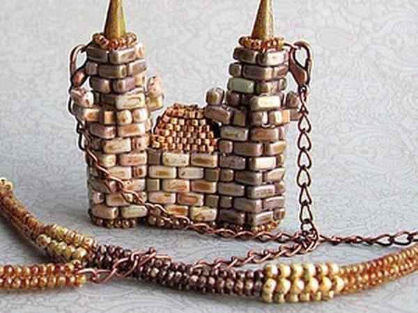 Строим свой собственный замок. Часть 1. Основы и нижняя часть башни   Ярмарка Мастеров - ручная работа, handmade