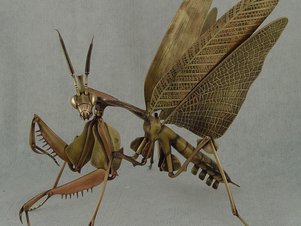 Металлические насекомые от Geoffrey Haberman | Ярмарка Мастеров - ручная работа, handmade