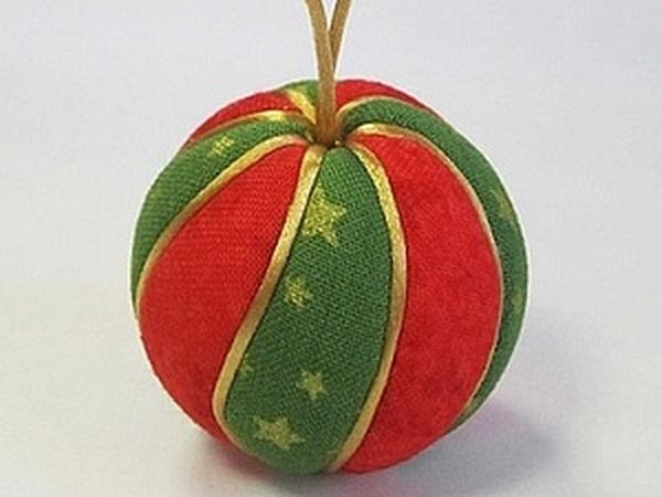 Елочные шары в технике кимекоми   Ярмарка Мастеров - ручная работа, handmade