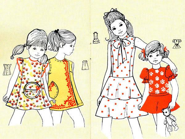 Путешествие в 1974 год. Винтажные модели с выкройками | Ярмарка Мастеров - ручная работа, handmade