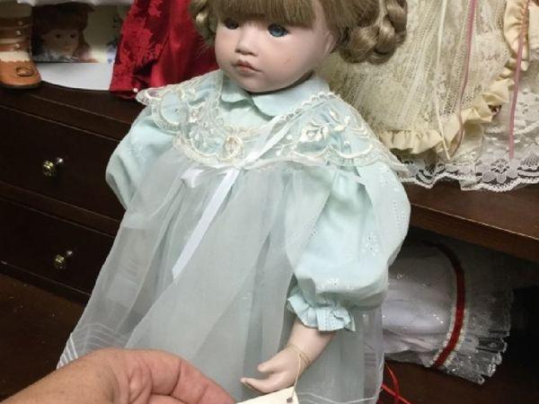 Кукла Портретная Джорджина Dolls Pauline   Ярмарка Мастеров - ручная работа, handmade