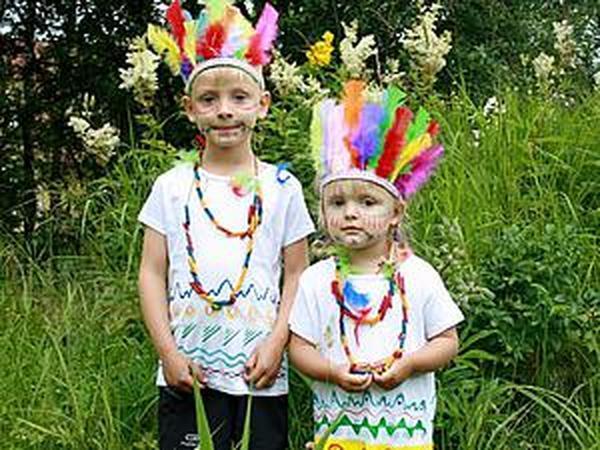 Делаем костюм индейцев: просто, бюджетно, но эффектно | Ярмарка Мастеров - ручная работа, handmade