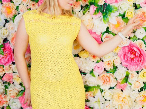 Готовимся к лету: ажурные летние платья   Ярмарка Мастеров - ручная работа, handmade