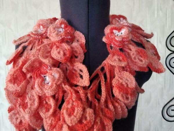 Авторские оригинальные шарфики от 1000руб | Ярмарка Мастеров - ручная работа, handmade