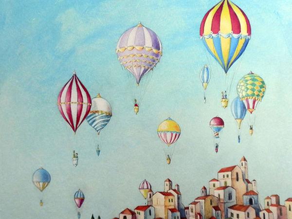Воздушные шары Алессандро Пантани | Ярмарка Мастеров - ручная работа, handmade