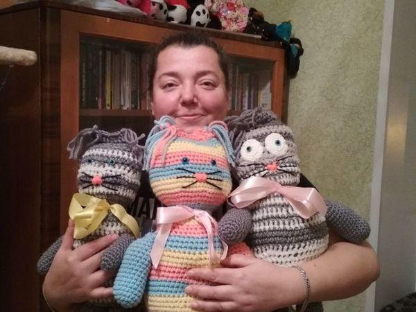 Скидка 30% на котов и сов! | Ярмарка Мастеров - ручная работа, handmade