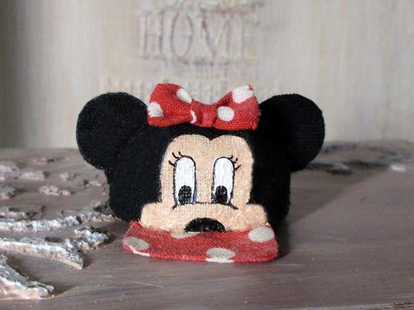 Шьем кепочку Минни Маус для куклы | Ярмарка Мастеров - ручная работа, handmade