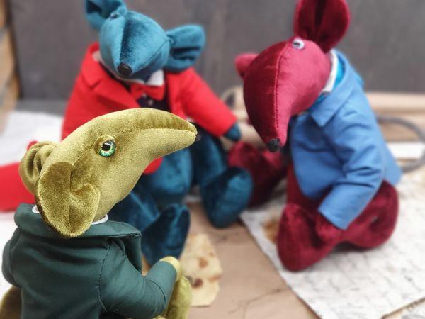 Видео крыс «Три бархата»   Ярмарка Мастеров - ручная работа, handmade