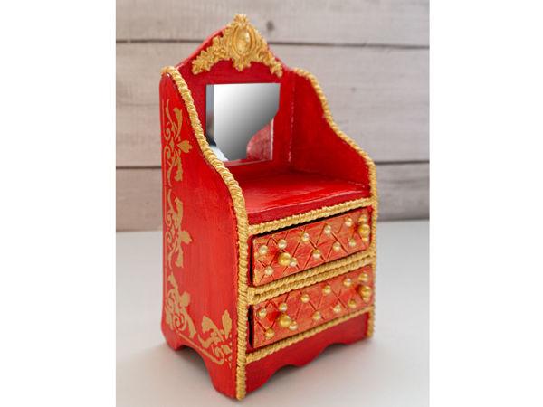 Шкатулка из картона  своими руками | Ярмарка Мастеров - ручная работа, handmade