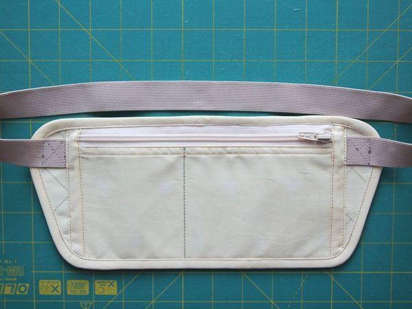 Шьем потайную сумку путешественника «Для денег» | Ярмарка Мастеров - ручная работа, handmade