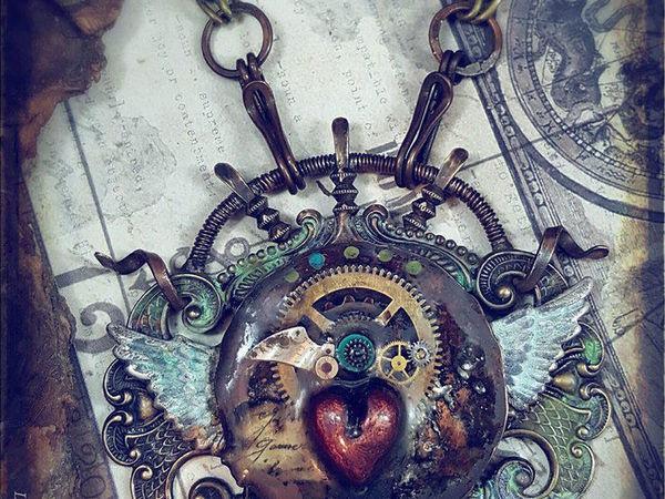 Смесь викторианства, этники и стимпанка в украшениях Luthien Thye   Ярмарка Мастеров - ручная работа, handmade