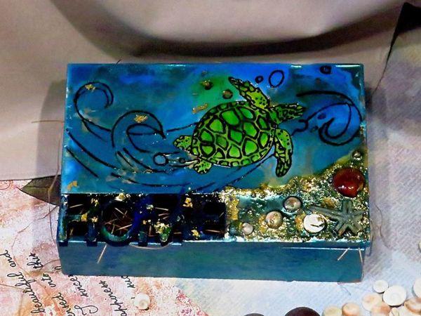 Создаем роскошную шкатулку своими руками | Ярмарка Мастеров - ручная работа, handmade