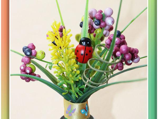 Декорируем легко и быстро пробку для бутылки   Ярмарка Мастеров - ручная работа, handmade
