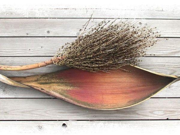 Материалы под ногами. Цветоносы пальмы   Ярмарка Мастеров - ручная работа, handmade