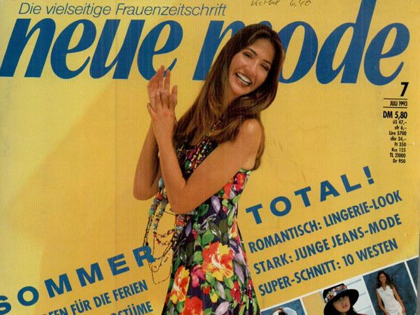 Neue mode 7 1993 (июль) | Ярмарка Мастеров - ручная работа, handmade