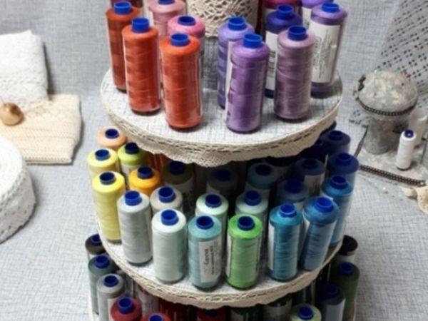Making Organizer For Sewing Threads | Livemaster - handmade
