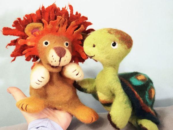 Львенок и Черепаха. Видео   Ярмарка Мастеров - ручная работа, handmade