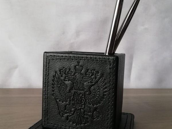 Делаем набор руководителя. Урок 2: Стакан для ручек и карандашей | Ярмарка Мастеров - ручная работа, handmade