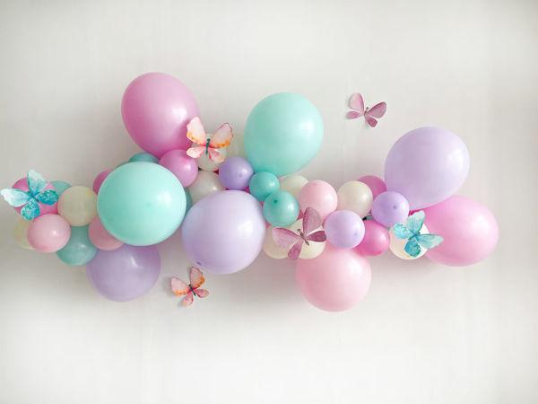 Гирлянда из воздушных шаров | Ярмарка Мастеров - ручная работа, handmade