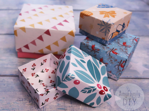 How to Make a Little Origami Box for 5 Minutes   Livemaster - handmade
