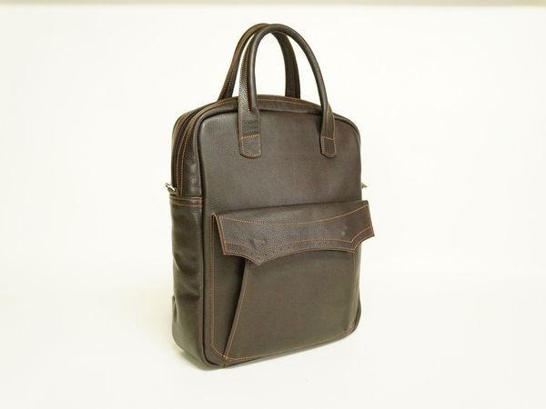 Стильная сумка или сумка рюкзак? | Ярмарка Мастеров - ручная работа, handmade