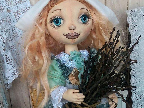 Моя куколка Золушка. Видео   Ярмарка Мастеров - ручная работа, handmade
