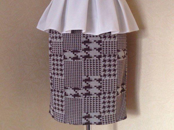 Нежная юбка-карандаш   Ярмарка Мастеров - ручная работа, handmade