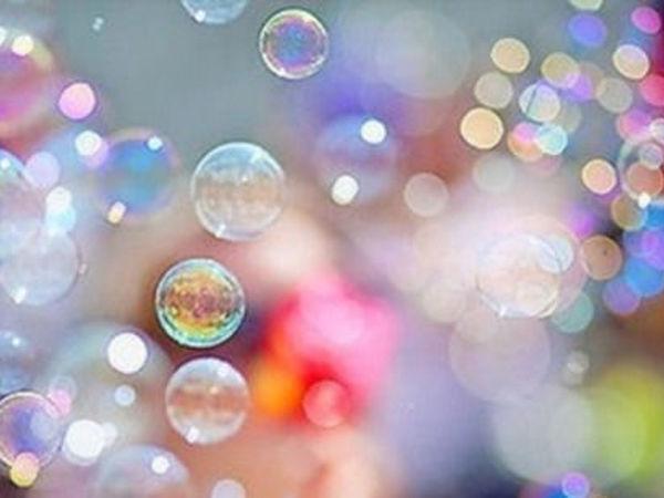 Крепкие Мыльные Пузыри для Детей: 7 Лучших Рецептов   Ярмарка Мастеров - ручная работа, handmade
