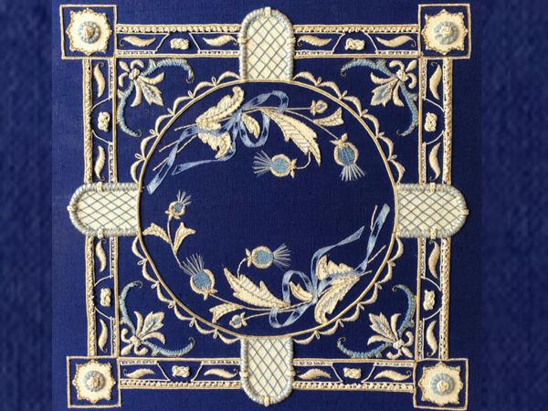 Интерьерная вышивка «Прованс» | Ярмарка Мастеров - ручная работа, handmade